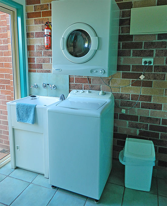 Self service laundry facilities at The Roseville Apartments