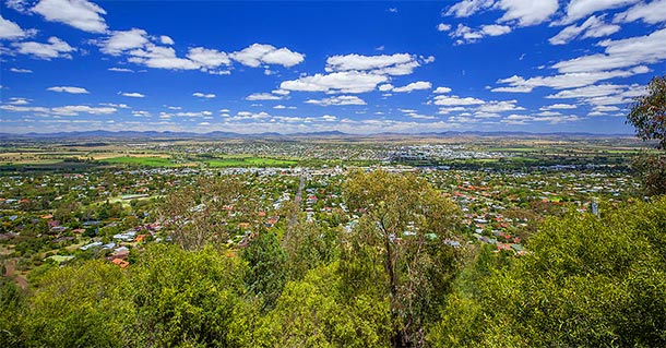 Tamworth NSW - Oxley Lookout
