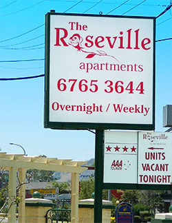 Accommodation Tamworth - Roseville Apartments - Home